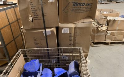 320 9″ x 6″ Tapco Vented Buckets