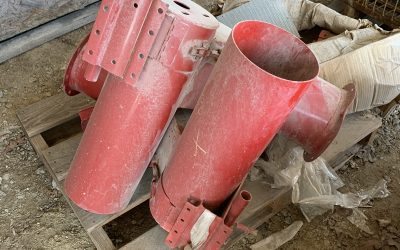 Hutchinson 8″ Vertical Auger- Horizontal to Vertical Assembly