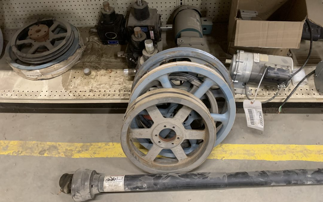 Many 15″ – 18′ Auger Drive Pulleys